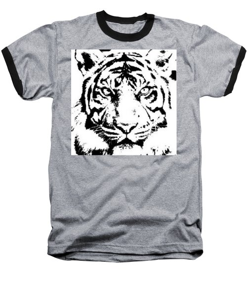 Tiger Baseball T-Shirt by Now