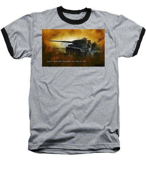 Tiger Tank Baseball T-Shirt