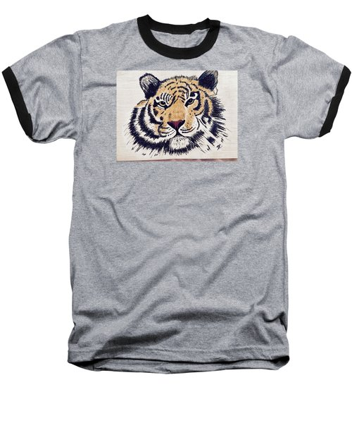 Tiger Tiger Burning Bright Baseball T-Shirt
