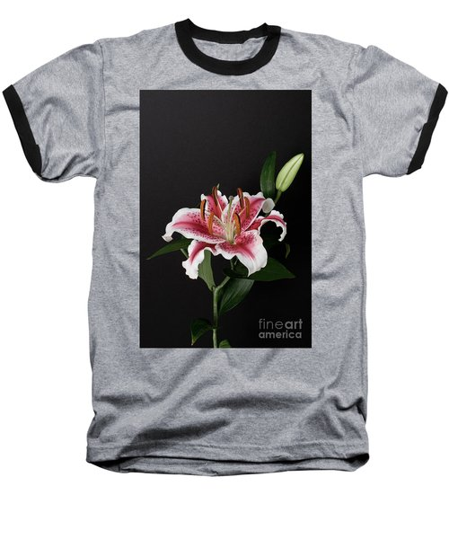 Tiger Woods Lily Baseball T-Shirt