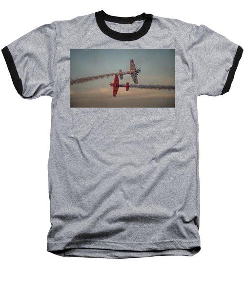 Tiger Yak 55 Baseball T-Shirt by Dorothy Cunningham