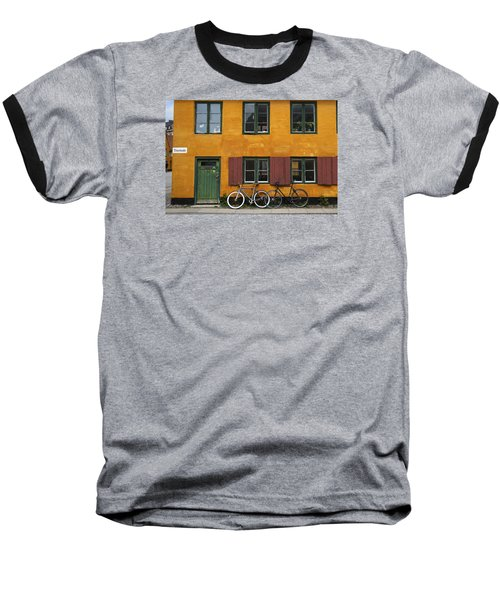 Tigergade Apartment Scene Baseball T-Shirt by Eric Nielsen