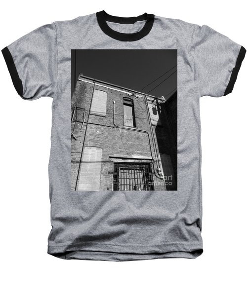 Tightrope My A.. Baseball T-Shirt by Marie Neder
