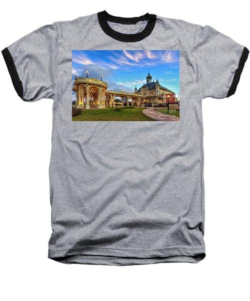 Tigre 002 Baseball T-Shirt by Bernardo Galmarini