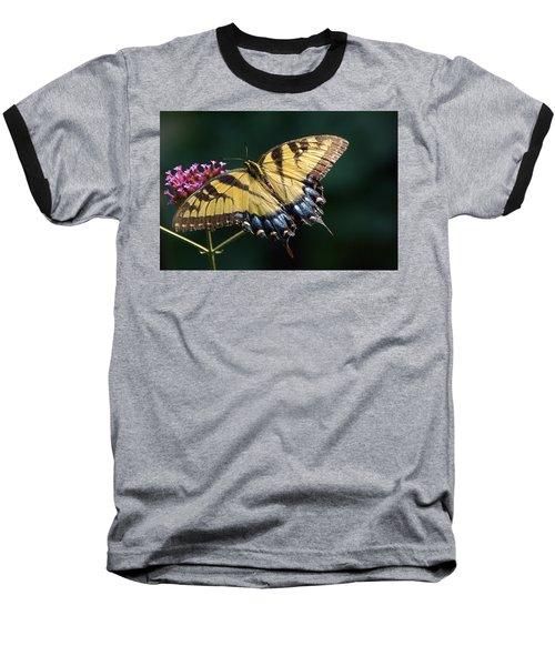 Baseball T-Shirt featuring the photograph Tigress And Verbena by Byron Varvarigos