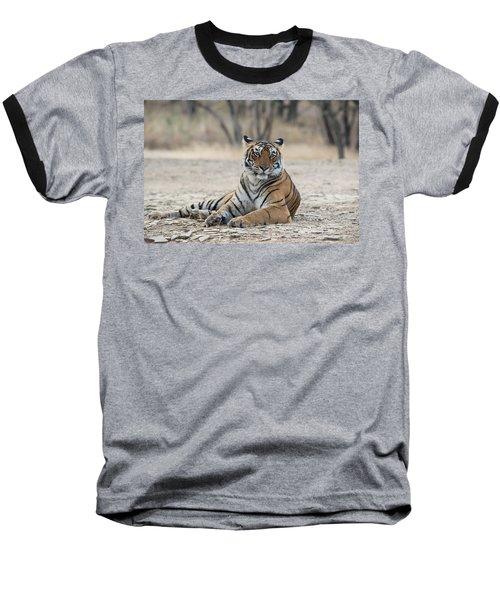 Tigress Arrowhead Baseball T-Shirt