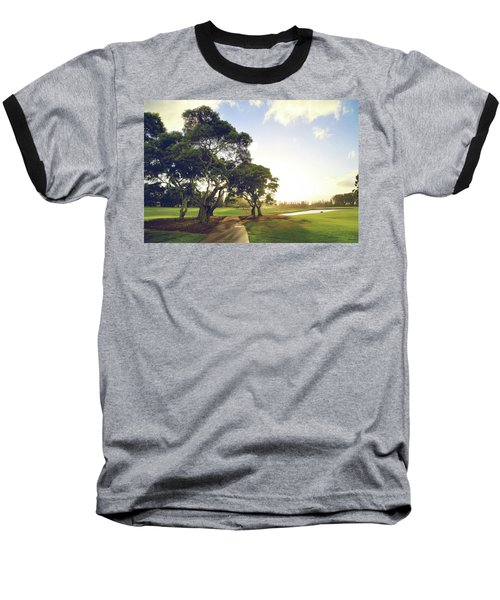 Baseball T-Shirt featuring the photograph 'til I'm In Your Arms Again by Laurie Search