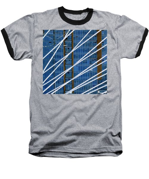 Tilikum Bridge Baseball T-Shirt