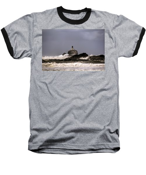 Tillamook Lighthouse Baseball T-Shirt
