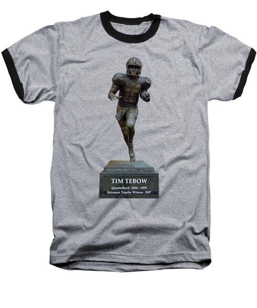 Tim Tebow Transparent For Customization Baseball T-Shirt