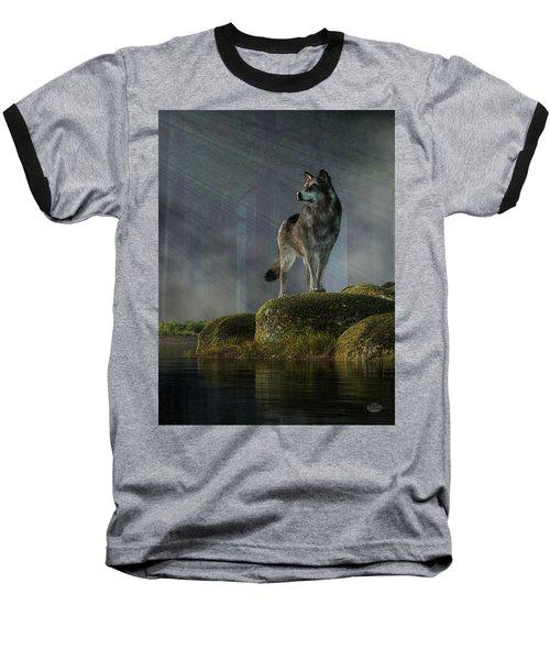 Timber Wolf Baseball T-Shirt