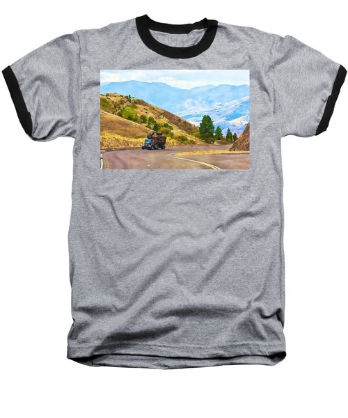 Timbers Truck In Idaho Baseball T-Shirt