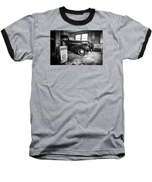 Old Car - Blue Ridge Mountains Baseball T-Shirt
