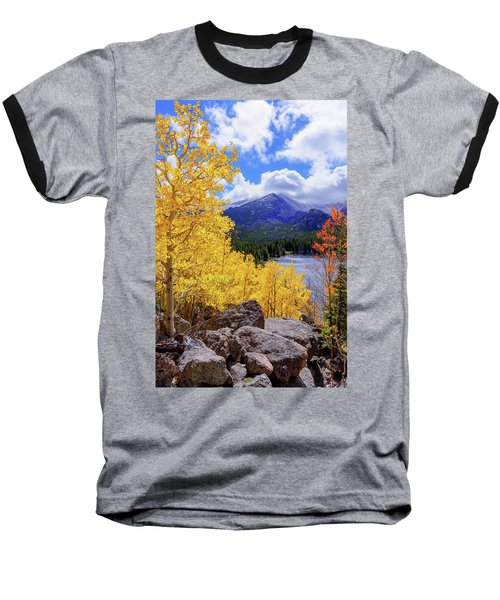 Baseball T-Shirt featuring the photograph Time by Chad Dutson