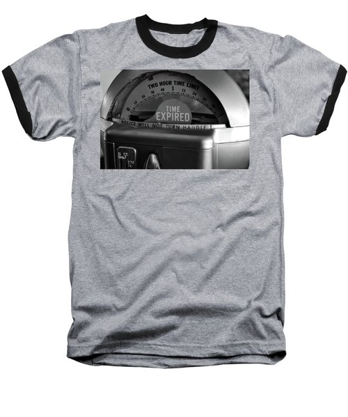 Time Expired Baseball T-Shirt