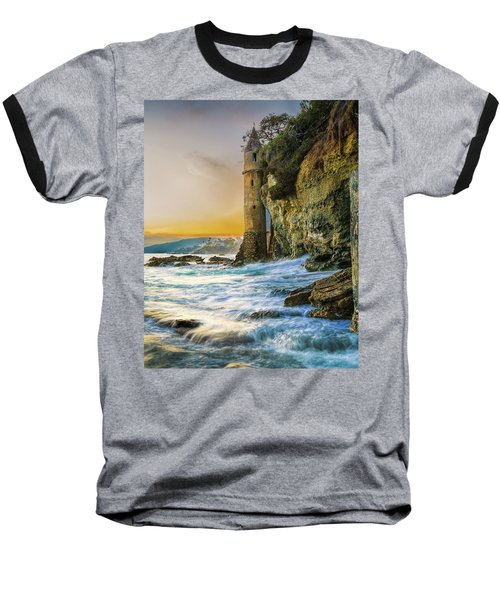 Time Flows I Wait Baseball T-Shirt