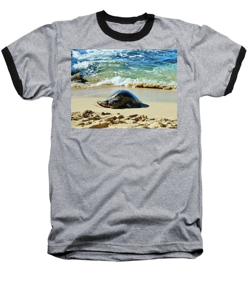 Time For A Rest Baseball T-Shirt by Craig Wood