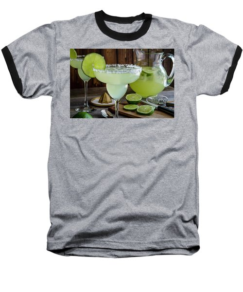 Baseball T-Shirt featuring the photograph Time For Margaritas by Teri Virbickis