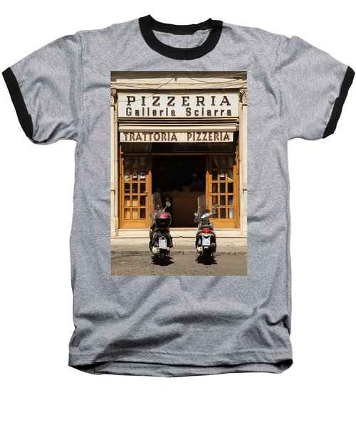 Time For Pizza Baseball T-Shirt