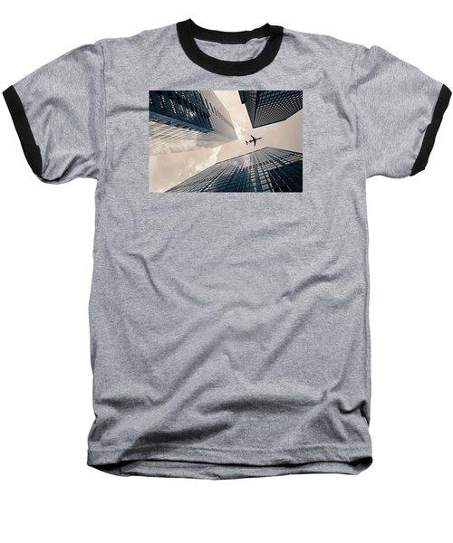 Time Frame Baseball T-Shirt by Iryna Goodall