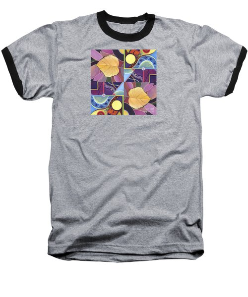 Time Goes By - The Joy Of Design Series Arrangement Baseball T-Shirt