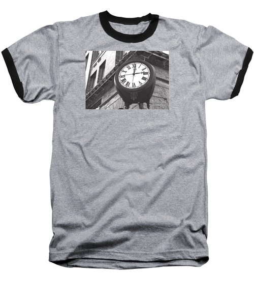 Baseball T-Shirt featuring the photograph Time Keeps Ticking by Rebecca Davis