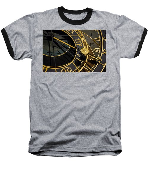 Baseball T-Shirt featuring the photograph Time Machine by Alex Lapidus