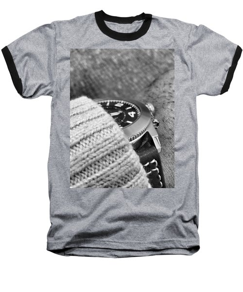 Baseball T-Shirt featuring the photograph Time Machine by Robert Knight