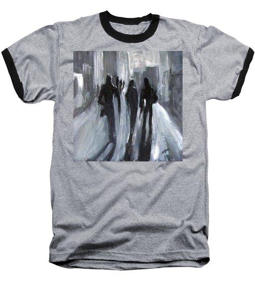 Time Of Long Shadows Baseball T-Shirt