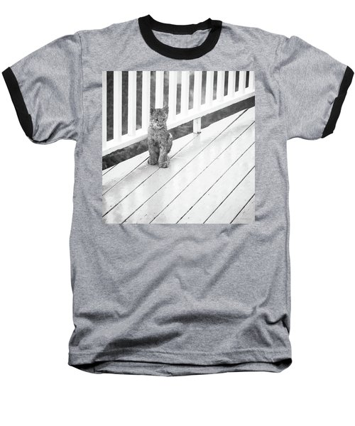 Time Out Bw Baseball T-Shirt