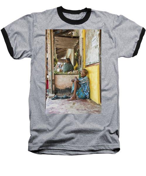 Kumarakom Baseball T-Shirt by Marion Galt