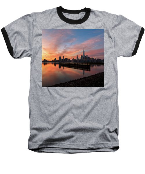Time To Reflect  Baseball T-Shirt by Anthony Fields