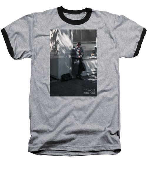 Time Traveler Baseball T-Shirt