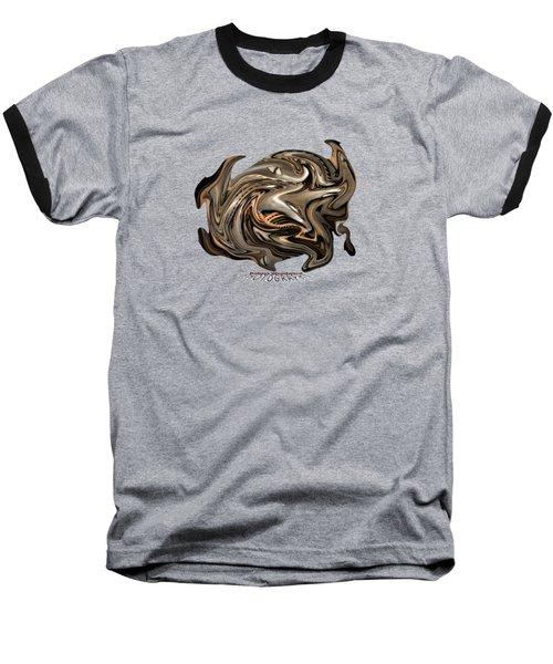 Time Warp Transparency Baseball T-Shirt