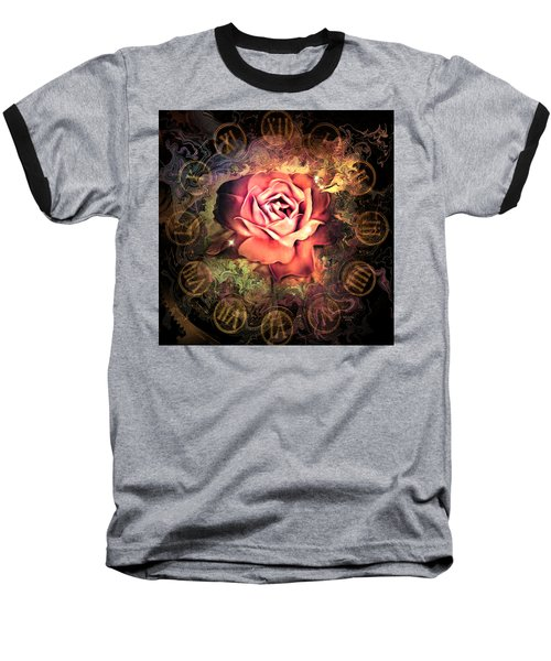 Timeless Rose Baseball T-Shirt