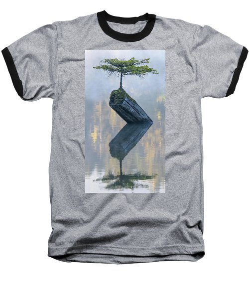 Timeless Tranquility Baseball T-Shirt by Keith Boone