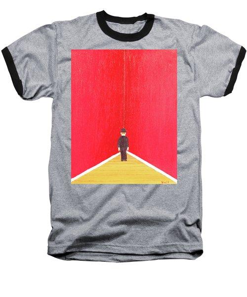 Timeout Baseball T-Shirt by Thomas Blood