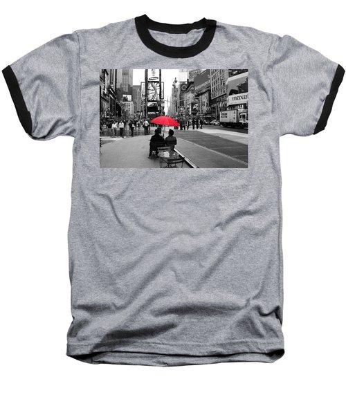 Times Square 5 Baseball T-Shirt