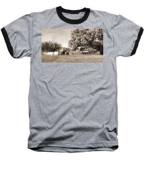 Timeworn Baseball T-Shirt by Susan Kinney