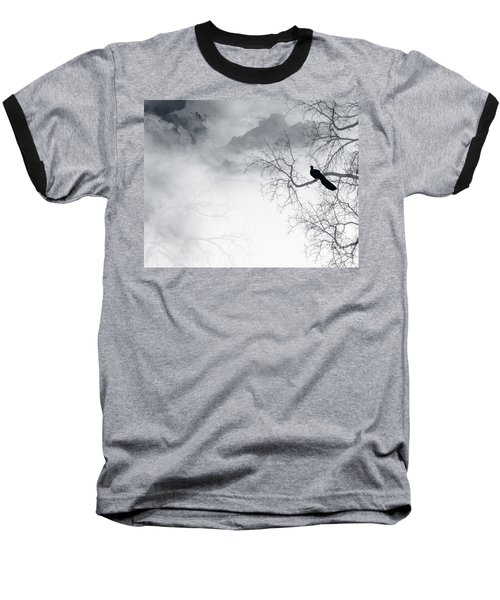 Baseball T-Shirt featuring the digital art Timing Is Everything by Trilby Cole