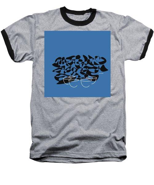 Timpani In Blue Baseball T-Shirt