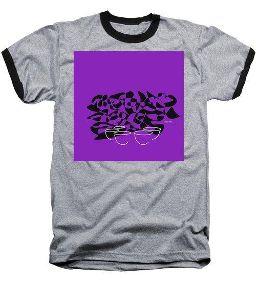 Timpani In Purple Baseball T-Shirt