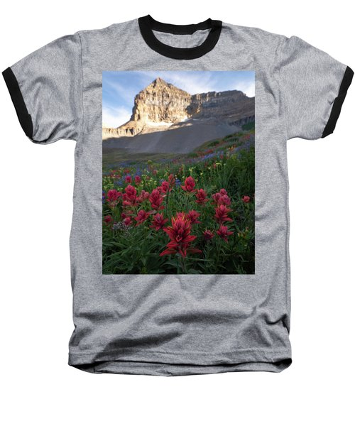 Timpanogos Paintbrush Baseball T-Shirt
