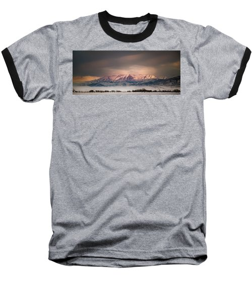 Timpanogos Rising Baseball T-Shirt
