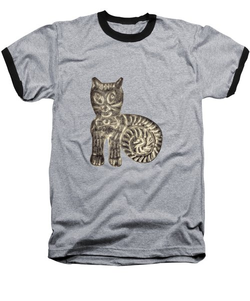Tin Cat Baseball T-Shirt