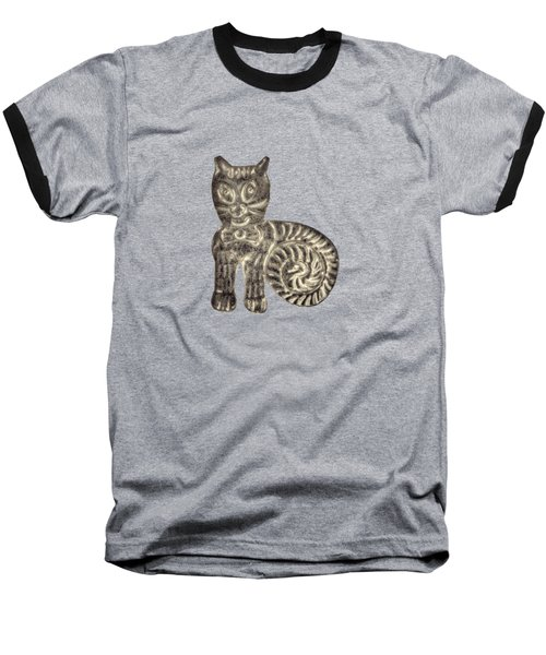 Tin Cat Baseball T-Shirt