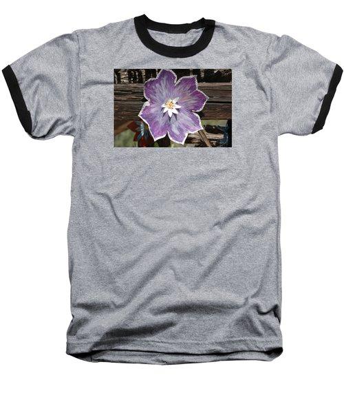 Tin Flower Baseball T-Shirt