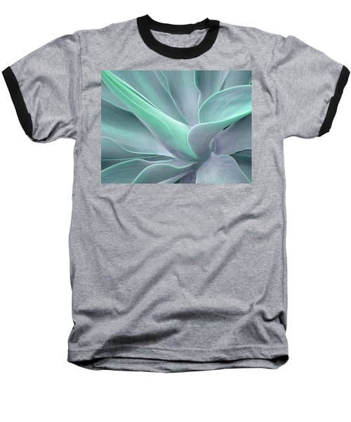 Tinted Agave Attenuata Abstract Baseball T-Shirt