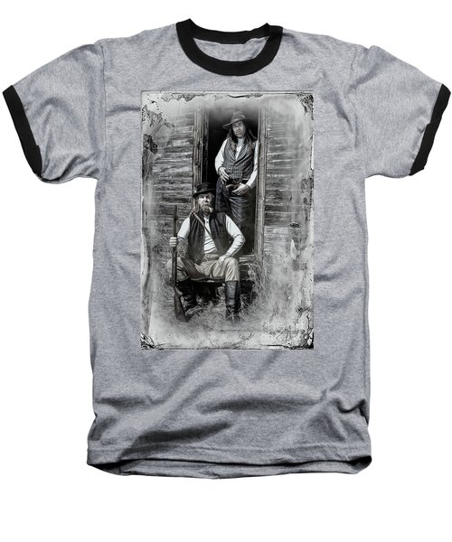 Tintype Portrait Reproduction Baseball T-Shirt