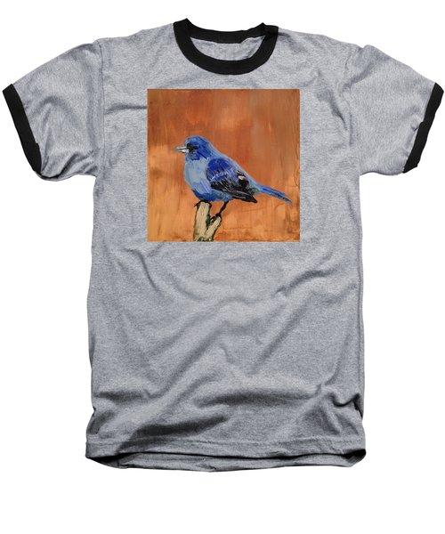 Tiny Blue Baseball T-Shirt